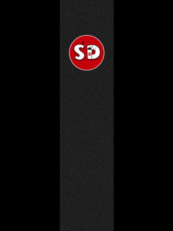 Spray Design Logo Griptape Black/Red