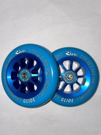 River Natural Glide Blue on Blue