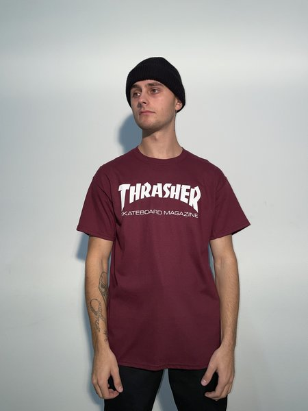Thrasher T-shirt Burgundy