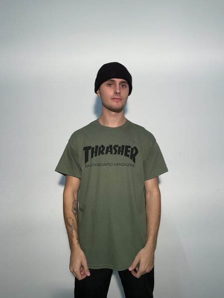 Thrasher T-shirt Green