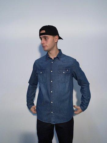 Dickies Willard Mid Blue Shirt