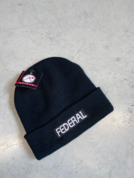 Federal Beanie Blacklack