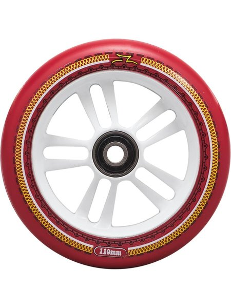 AO Scooters Mandala Wheels White/Red