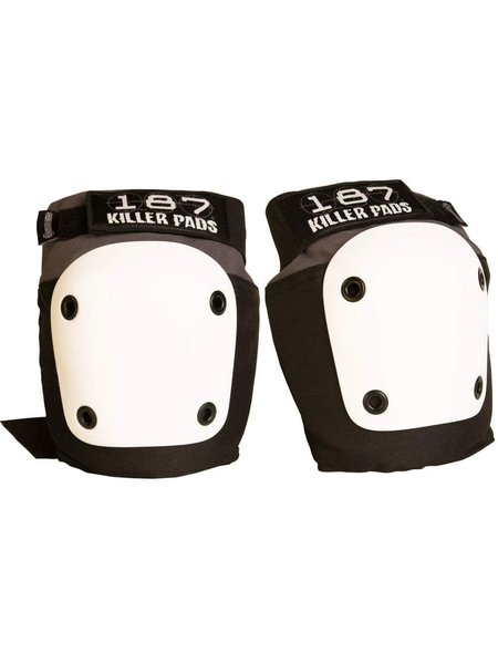 Killer Pads 187 Fly Knee Grey/White