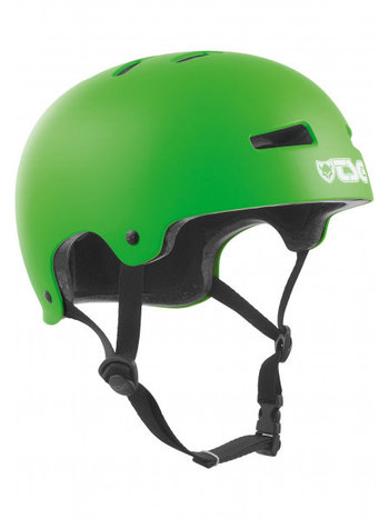 TSG Evolution Helm Solid Satin Lime Green