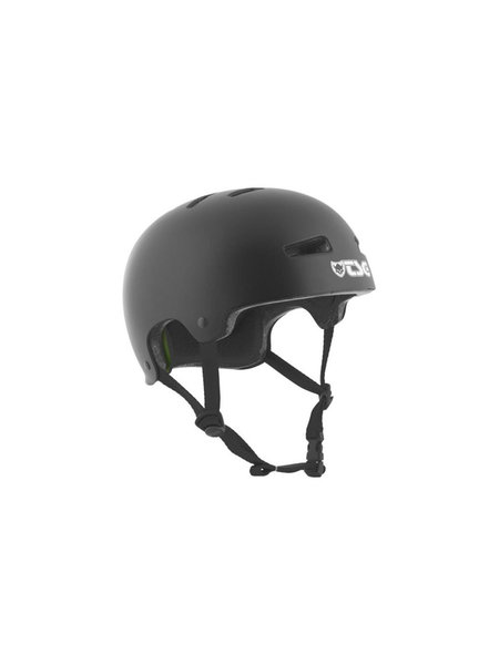 TSG Evolution Helm Solid Satin Black