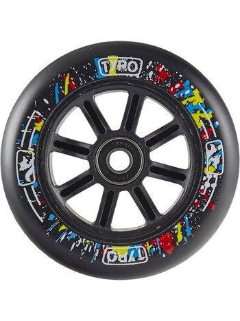 Longway Tyro Nylon Kern Wheels Black