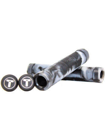 Trynyty Scooters Swirl Grips White Black