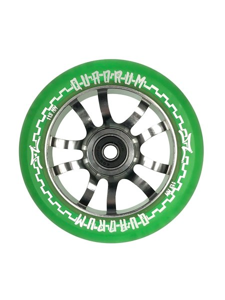 AO Scooters Quadrum Wheels Green