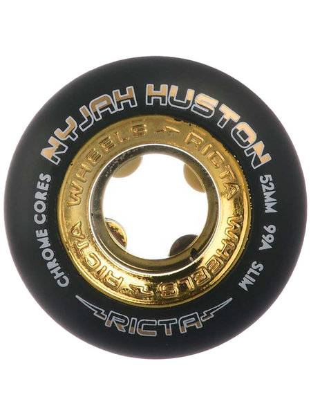 Ricta Nyjah Wheels 53mm Black/Gold