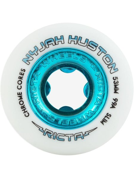 Ricta Nyjah Wheels White/Blue