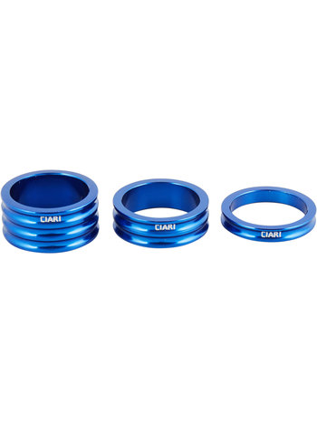 Ciari Anelli Headset spacer set blue