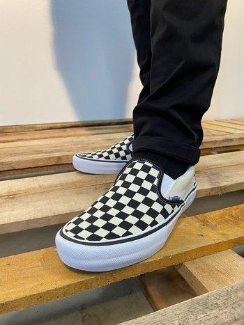 Vans Classic Slip On Pro Check