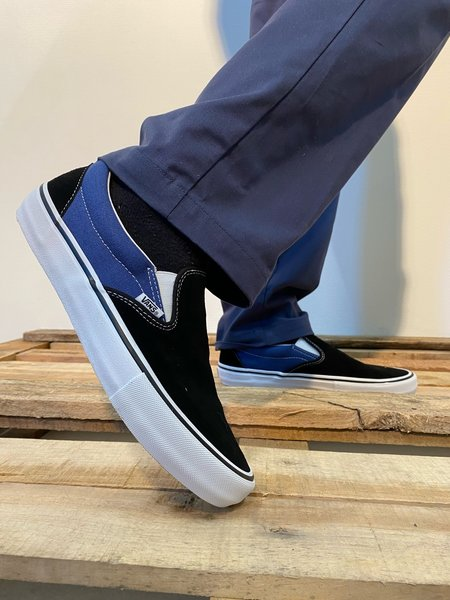Vans Slip On Pro Anti Hero Blue/Black