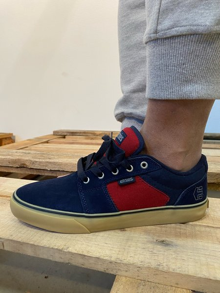 Etnies Barge LS Navy/Red