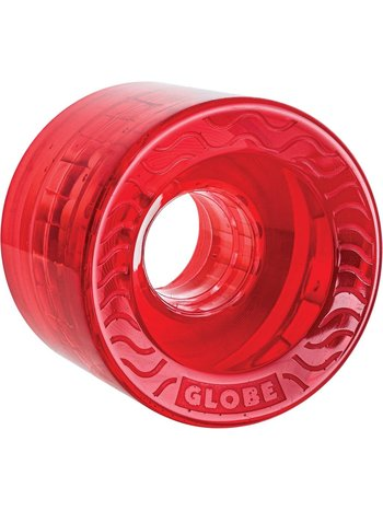 Globe Retro Flex Cruiser Wheels 58mm Clear Red