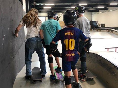 Kinderfeestjes BMX & Skatepark