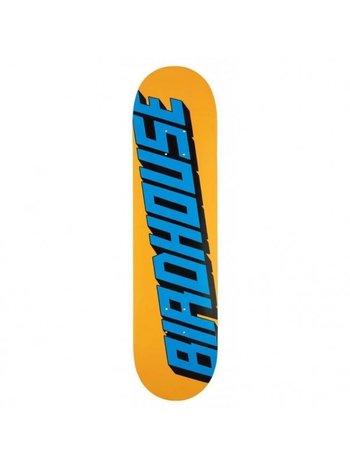 Birdhouse  Type Logo Deck Orange