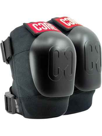 Core Pro Park Knee Pads Black