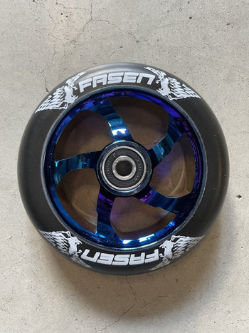 Fasen scooters Spoked Wheels Neo Chrome