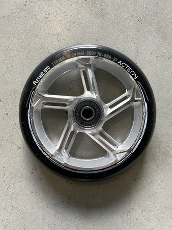 Ethic DTC  Acteon Wheels Silver