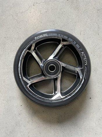 Ethic DTC  Acteon Wheels Black/Chrome