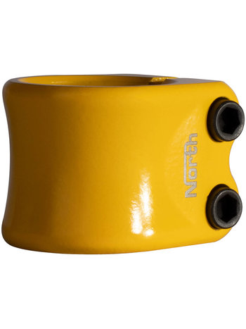 North  Profile HIC Double Clamp Yellow