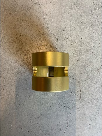 Fuzion  Double Clamp Matte Gold