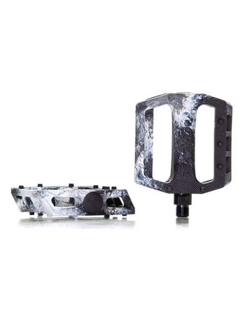 Demolition Trooper PC Pedals Black / White