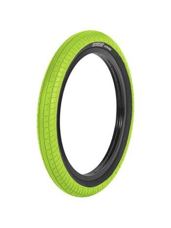 Sunday BMX Street Sweeper Tire 2,4 Green