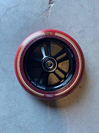 AO Scooters Mandala Wheels Red/Black