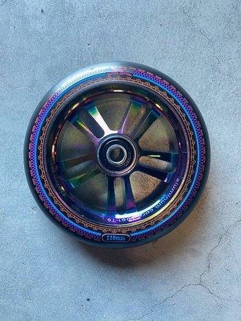 AO Scooters Mandala Wheels Oil Slick