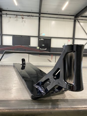 "AO Scooters Bouzid V2 Signature Deck 5.8"" x 22"" Black"