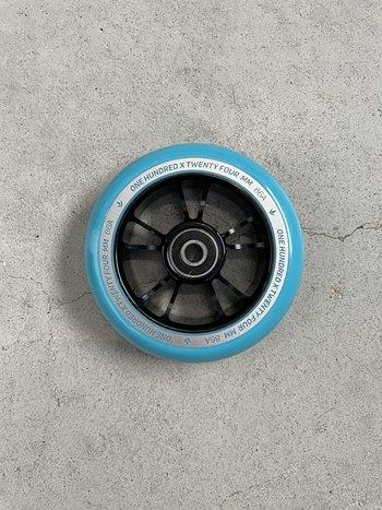 Blunt Envy 10 Spokes Wheels Black Teal