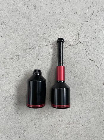 Ethic DTC  Alu Pegs Red