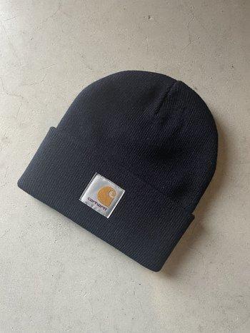 Carhartt WIP Short Watch Hat Dark Navy