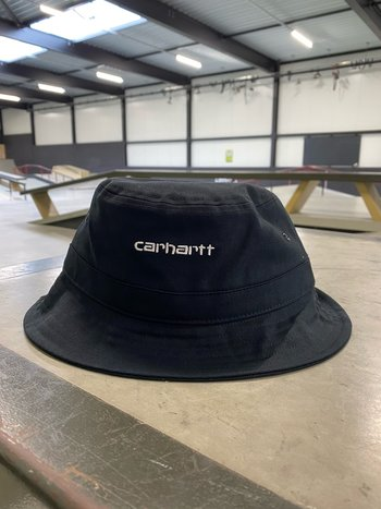Carhartt WIP Script Bucket Hat Black