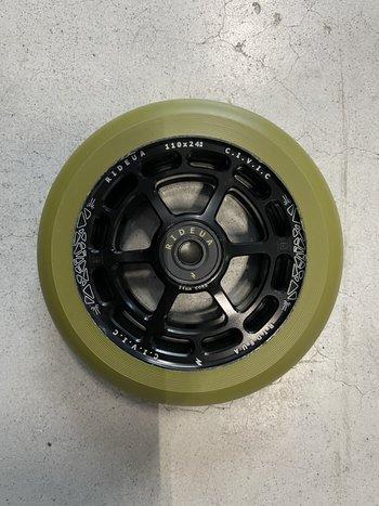 UrbanArtt Civic Wheels Black/Army Green