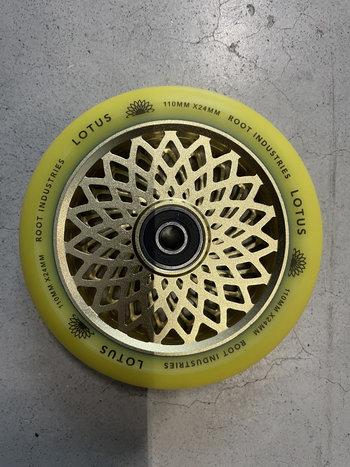Root Industries Lotus Wheels 110mm Radiant Yellow