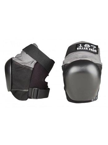 Killer Pads 187 Pro Derby Knee pads Grey/Black