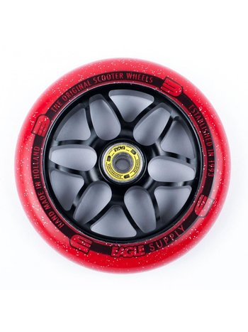 Eagle supply X6 Core Candy Wheels Black/Red