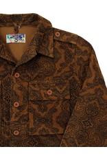 Madcap England Paisley Cord Military Jacket