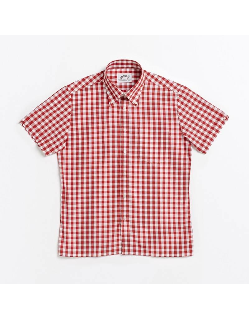 Brutus London Red Large Gingham