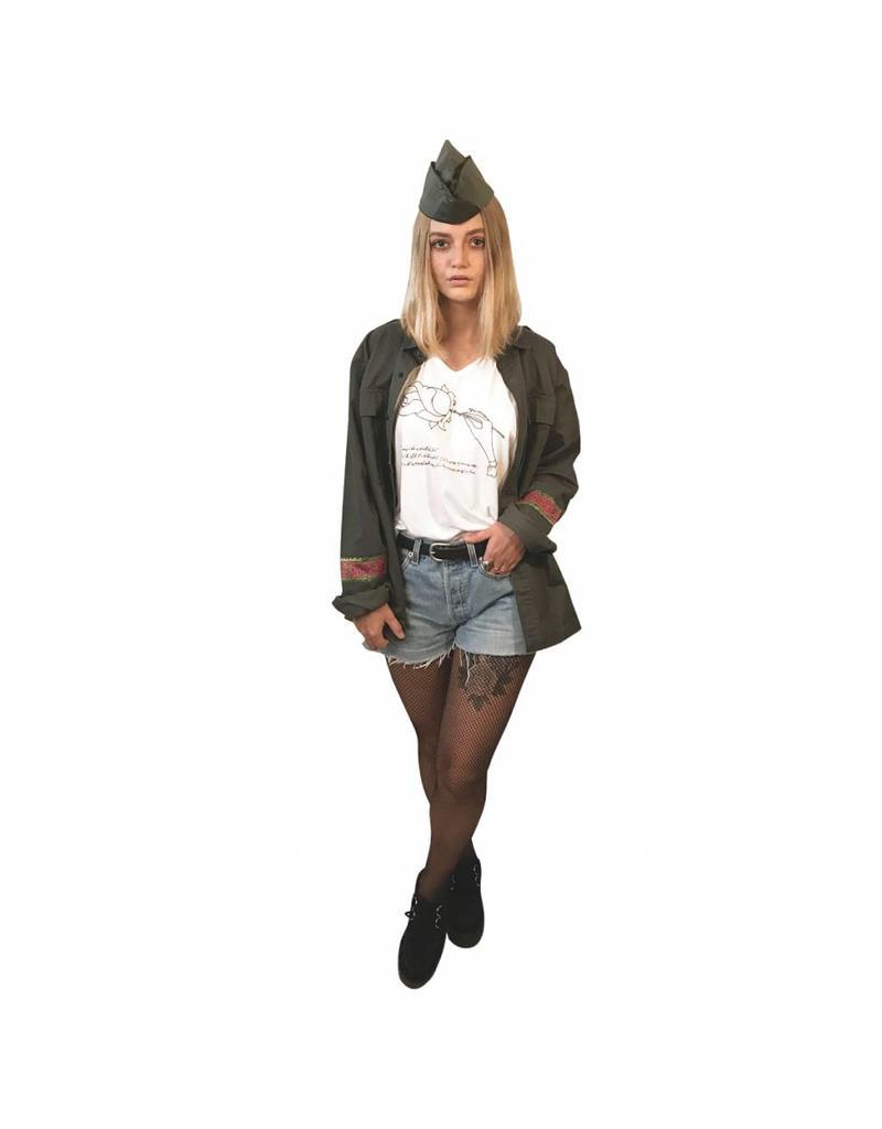 Liv Schwarz Army Jacke