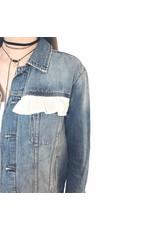Liv Schwarz Denim Jacket with cotton trimmings