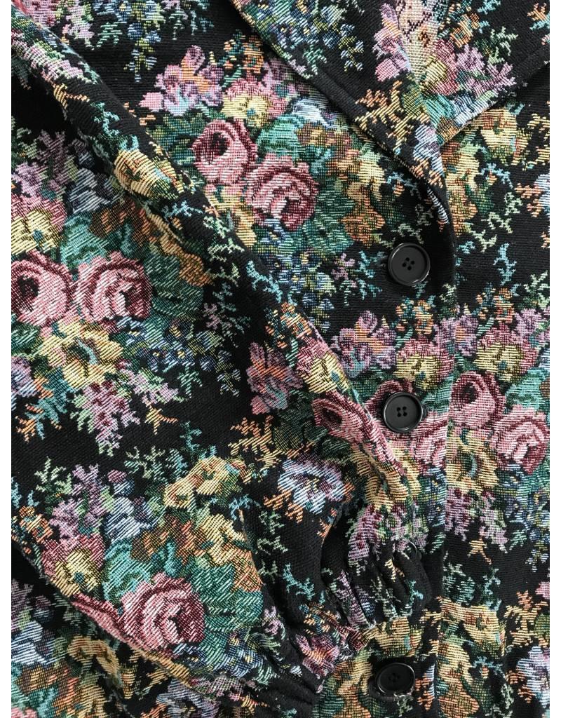 Liv Schwarz Jacket Flowers