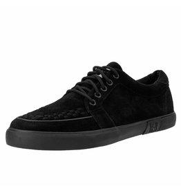 T.U.K. Footwear Sneaker suede schwarz