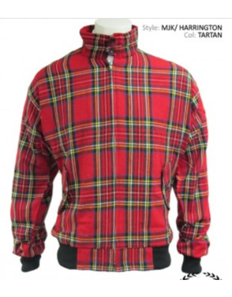 Relco London Harrington Tartan