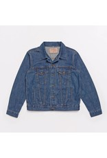 Brutus London Brutus London Gold Denim Trucker Jacket