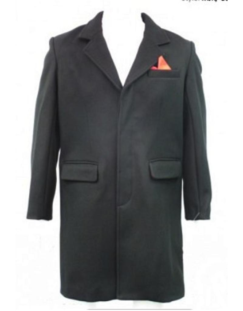 Relco London Mantel Dandy mit Einstecktuch
